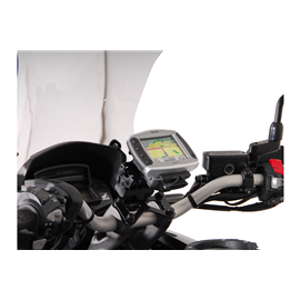 HONDA VFR 1200 X CROSSTOURER (11-) SOPORTE DE GPS QUICK-LOCK NEGRO