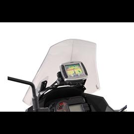 KAWASAKI VERSYS 1000 (12-14) SOPORTE DE GPS QUICK-LOCK NEGRO