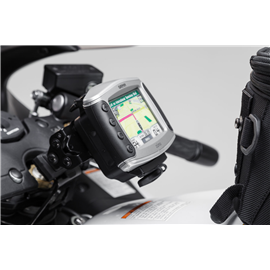 SUZUKI GSX 1300 R HAYABUSA (99-) SOPORTE DE GPS QUICK-LOCK NEGRO