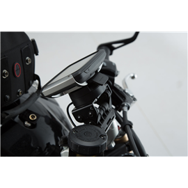 TRIUMPH SPEED TRIPLE 1050 (10-) SOPORTE DE GPS QUICK-LOCK NEGRO
