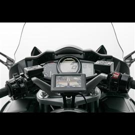 YAMAHA FJR 1300 (04-) SOPORTE DE GPS QUICK-LOCK NEGRO