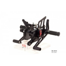 2SLIDE REARSET GSX-R 1000 17- CUP MOUNTING PIECE RED.