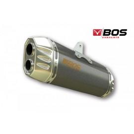 BOS ENDTOPF DESERT FOX CARBON STEEL KTM 1090 ADV./R 17- 1290 SUPER ADV. R/S/T 17- (EURO4)