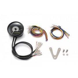 DIGITAL TACHOMETER INCL. SPEEDO VELONA BLACK Ø 80MM 9.000 RPM