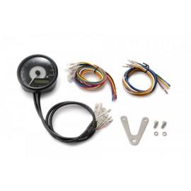 DIGITAL TACHOMETER INCL. SPEEDO VELONA BLACK Ø 80MM 15.000 RPM