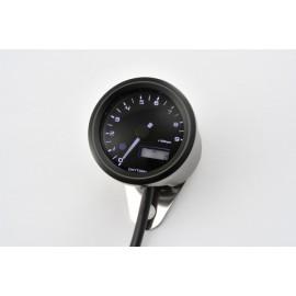 DIGITAL TACHOMETER VELONA BLACK Ø 48MM 9.000 RPM