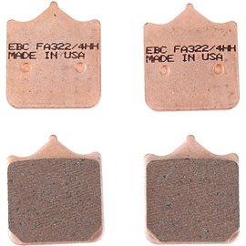DUCATI 996 R 01' - 01' EBC SINTETIZADAS DELANTERAS