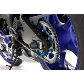 YAMAHA R6R '17 - PROTECTORES EJE TRASERO EVOTECH