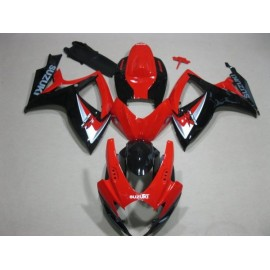 SUZUKI GSXR600/750 06'-07' ROJO NEGRO