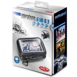 SOPORTE GPS UNIVERSAL MOTO MANILLAR TUBULAR 7x12cm