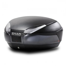 BAUL SHAD SH48 GRIS OSCURO/NEGRO