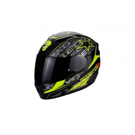 EXO-1200 AIR SOLIS NEGRO MATE AMARILLO