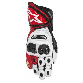 GUANTES ALPINESTARS GP TECH ROJO/BLANCO