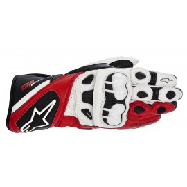 GUANTES ALPINESTARS GP PLUS BLANCO/ROJO