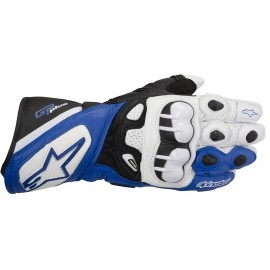 GUANTES ALPINESTARS GP PLUS AZUL/BLANCO