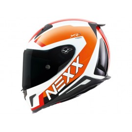 NEXX X.R2 TRION NEON BLANCO NARANJA