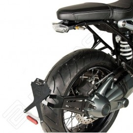 BMW R NINE T SIDE NAKED PORTAMATRICULAS BARRACUDA