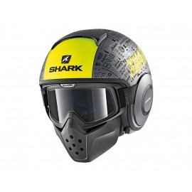 SHARK DRAK TRIBUTE AMARILLO ANTRACITA NEGRO MATE